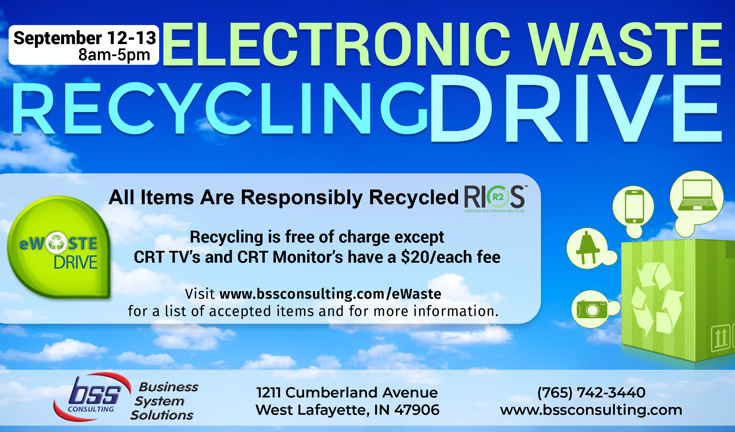 Circuit Board Recycling Lafayette Indiana Modern Design Of Wiring Gold In Boards Kokomo Electronic Waste Drive Rh Bssconsulting Com Manufacturing